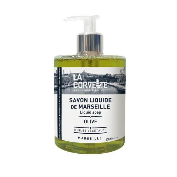 savon liquide de Marseille olive