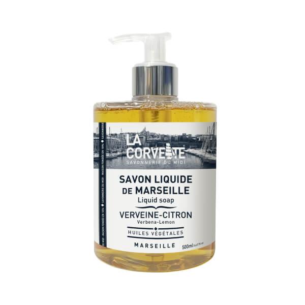 Savon liquide de Marseille Verveine Citron